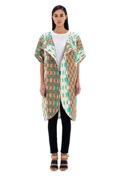 African Print Tulip Coat. I want this coat so so so badly. Its phenomenal.