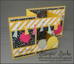 In de Spotlight: 'verjaardagskaarten' (speciale Z-Fold card)