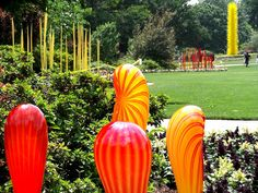 Life With SarahB: Chihuly Blown Glass in Dallas Garden