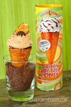 I NEED THESE!! PRETZEL CONES!