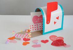 Pour les petits drôles: une boîte aux lettres pour leurs billets doux :DIY Duct Tape | MerMag Blog