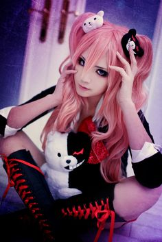 Cosplay Danganronpa Rato(M-Rato) Junko Enoshima Cosplay Photo - WorldCosplay