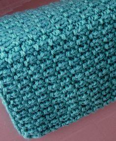 Free Knitting Pattern for Broken Rib Bath Mat