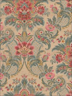 wallpaperstogo.com WTG-124320 Seabrook Designs Traditional Wallpaper