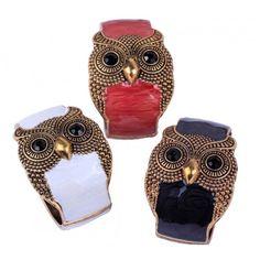 Изысканный широкий браслет, декорированный объемным изображением совы. Как вам известно сова считается символом мудрости и познания. Эти браслеты будут роскошно смотреться на Вашем запястье!