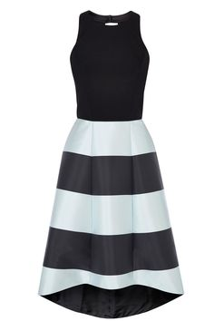 Buy Coast Kate Stripe Dress, Black/Mint from our Women's Dresses Offers range at John Lewis & Partners. High Low Cocktail Dress, Blue High Low Dress, A Line Cocktail Dress, Evening Cocktail, Cocktail Dresses, Mint Maxi Dresses, Blue Evening Dresses, Mint Dress, Green Dress
