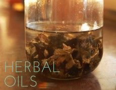 How to make herbal oils