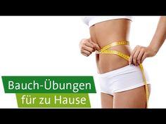 Bauch-Übungen für zu Hause - 4 Workouts - YouTube
