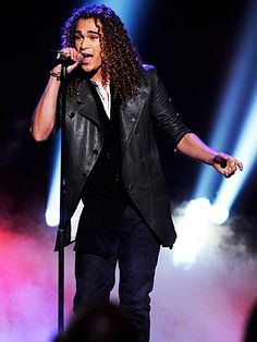 Deandre from American Idol he should have won..Loved his voice