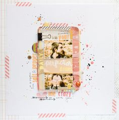 Your perfection drives me crazy  by all-that-scrapbooking at @Studio_Calico