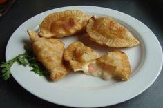 Prepara empanadas de camarón - queso