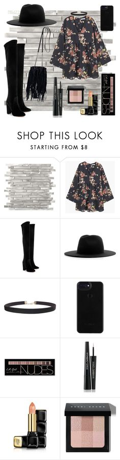 """#pickme"" by lovesprayer ❤ liked on Polyvore featuring MANGO, Aquazzura, Études, Humble Chic, Charlotte Russe, Dolce&Gabbana, Guerlain, Bobbi Brown Cosmetics and Yves Saint Laurent"