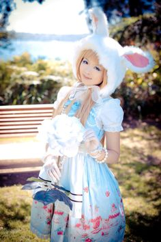 It seems that a disproportionate number of #BunnyEaredArmy members also happen to be very sweet lolitas.