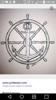 Anchor on Rudder