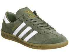 89e45d785 Adidas Hamburg Trainers Khaki White Exclusive - His trainers