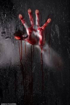The scarlet hand - creepy