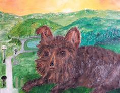 "Our beloved Missy Resting peacefully now, walking the ""Snufalupugus Trail"" daily with the same enthusiasm and joy. She is missed every day, our faithful companion and soulmate. Four Legged, I Love Dogs, Trail, Walking, Joy, Painting, Glee, Painting Art, Walks"