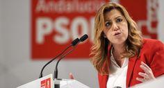Susana Díaz aterriza en Barcelona para criticar el proceso