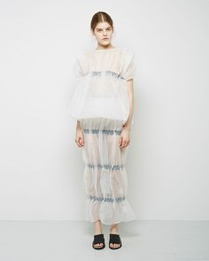 J.W. Anderson / Gathered Balloon Top J.W. Anderson / Pillar Skirt J.W. Anderson / Slide Sandal