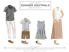 Family Portraits | What to Wear | Summer Outfits - www.lindseyburnett.com