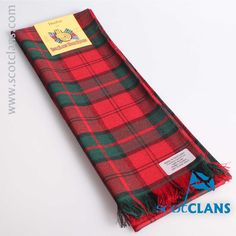 Dunbar Tartan Scarf. Free worldwide shipping available