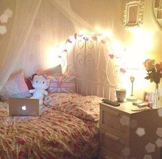 n o n a m e bed pinterest schlafzimmer lichterkette und zimmergestaltung. Black Bedroom Furniture Sets. Home Design Ideas