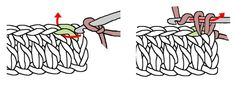 Methods for joining new yarn and attaching stuff