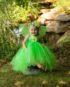 Custom Tinkerbell Pixie Dust Little Girls Fancy Halloween Tutu Dress Costume, Baby Girl, Infant, Toddler, Lime and Lavender Tulle by PoshBabyGirlTutus on Etsy https://www.etsy.com/listing/161372568/custom-tinkerbell-pixie-dust-little