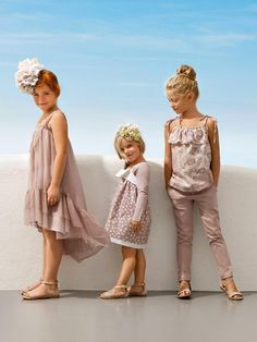 ALALOSHA: VOGUE ENFANTS: LIU JO Junior Spring Summer 2013 Collection