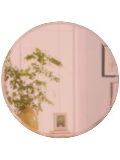 Buy Umbra Round Bevelled Mirror, Rose Gold from our Mirrors range at John Lewis & Partners. Rose Gold Mirror, Mirror Shapes, Living Room Update, Wall Mounted Mirror, Beveled Mirror, 2nd Floor, John Lewis, Home And Garden, Design Inspiration