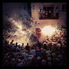 Festa Major. Sitges. Catalunya.