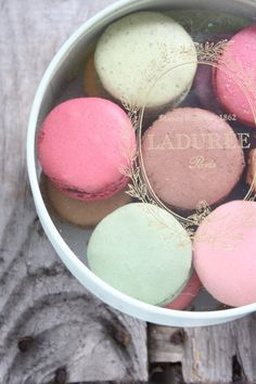 Some of the most famous macaroons in the world from Paris. Worth going to Paris for...