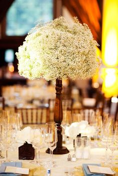 Inspired by Baby's Breath in Weddings | Inspired by This Blog