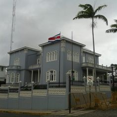 Old U.S.A. Embassy in Costa Rica; now House of the Directory of the Congress.