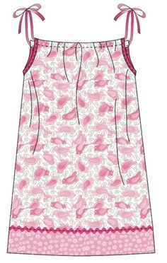Free Pillowcase Dress Pattern-- These are the types of dresses needed for the Little Dresses for Africa Program, the stripped down model. I have lots of embellished and more fun looks on this board for inspiration. This is the first pattern I ever fo Pillowcase Dress Pattern, Dress Sewing Patterns, Clothing Patterns, Pillowcase Dresses, Pattern Sewing, Skirt Patterns, Pattern Dress, Pattern Drafting, Blouse Patterns