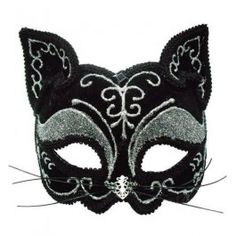 Masque Loup Burlesque Cabaret Victorien Chat Kitty