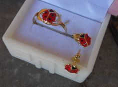 Check out this item in my Etsy shop https://www.etsy.com/listing/521393416/gold-ringgold-baby-ringladybug-ringbaby