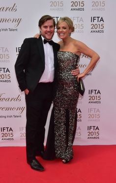 Peter Coonnan and Kim O'Driscoll