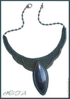 Collier, perles à la main. Foire Masters - collier fait main avec ofiokaltsitom. Handmade.