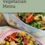 once a month meals - vegetarian menu (you don't have to be a member to get the recipes..... I'm thinking of cooking 8 freezer meals once a month for two quick + easy dinners a week!)
