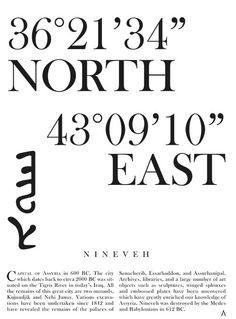 Nineveh Coordinates