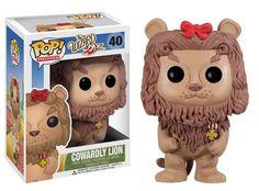 Funko Pop - Wizard Of Oz - Cowardly Lion - coming in August 2013 -  #WizardOfOz #FunkoPop #CowardlyLion