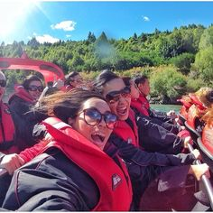 Having fun on Shotover jet, Queenstown! #shotover #jet #Queenstown #fun #awesome #activity #friends #nz #newzealand #nzmustdo #happy #Photooftheday #photo #picture #shot #awesome #moment #instalike #instamood #bestoftheday #bestmoment #outdoor #luxurynz #getaway #ilovetravel #instago