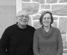 Danielle et Jean-Luc Jacq au Camping des Hortensias à #Carantec Baie de Morlaix #Bretagne #Brittany #Finistere #laplusbellebaiedumonde