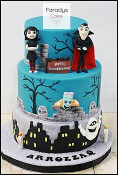 Hotel Transylvania Cake | Where Everything Is Made With Love