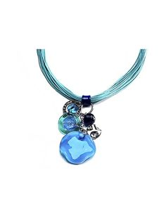 Antica Murrina Kali' - Murano Glass Charm Pendant Necklace