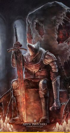 Dark Souls,фэндомы,Abyss Watchers,DSIII персонажи,Dark Souls 3