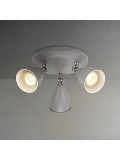 Buy John Lewis & Partners Plymouth LED 3 Spotlight Ceiling Plate, Taupe from our Ceiling Lighting range at John Lewis & Partners. Hanging Lights, Wall Lights, Flush Ceiling Lights, Ceiling Lighting, Incandescent Bulbs, White Light, Plymouth, John Lewis, Taupe