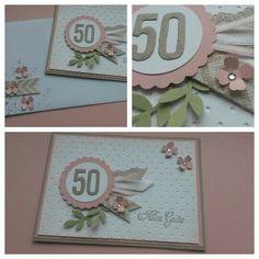 Stampin up, birthday card, itty bitty flowers, bird punch