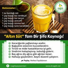 Altın süt, tam bir şifa kaynağı! Tea Recipes, Healthy Recipes, Quick Vegan Meals, Natural Health Remedies, Natural Medicine, Diet And Nutrition, Herbalism, Detox, Healthy Lifestyle
